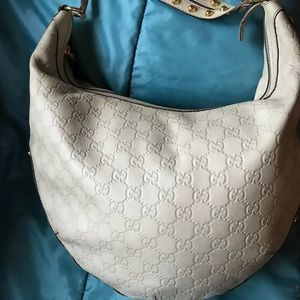Gucci Hobo Bag with studs